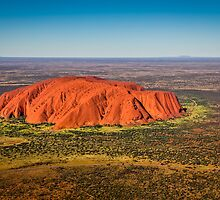 Ayers Rock & Mt Connor by Russell Charters