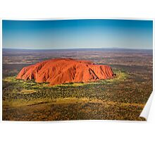 Ayers Rock & Mt Connor Poster