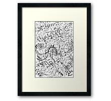076 Framed Print