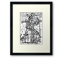 078 Framed Print