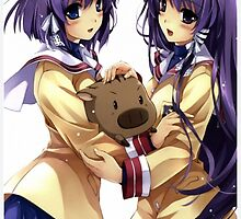 Clannad - Ryou and Kyou by lazares