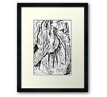 082 Framed Print