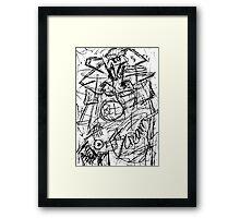 083 Framed Print