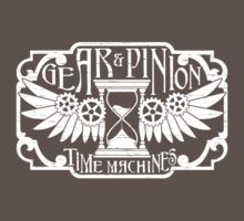 Gear & Pinion Time Travel Kids Clothes