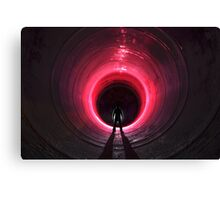 Tunnel Envy Canvas Print