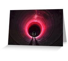 Tunnel Envy Greeting Card