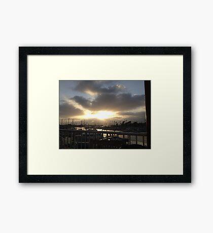 Oceanside Harbor Framed Print