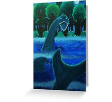 The Loch Ness Monster Greeting Card