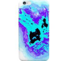 purple and blue phoenix iPhone Case/Skin