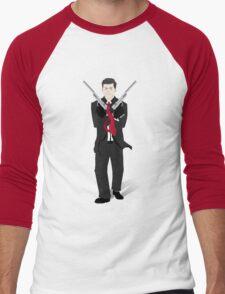 JFK Silent Assassin Men's Baseball ¾ T-Shirt