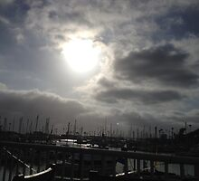 Harbor Sunset by photosbyamy