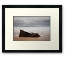 Tidal Mystery Bay Framed Print