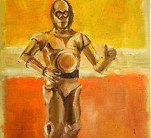 C3PO by Renee Bolinger