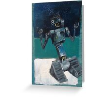Johnny 5 Greeting Card