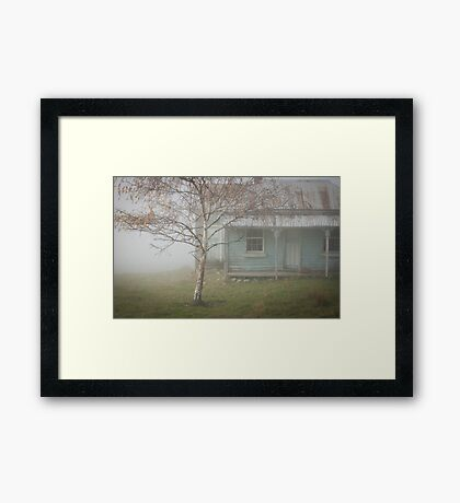 Abandoned. Framed Print