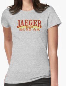 Jaeger Crew - Crimson Typhoon Womens Fitted T-Shirt