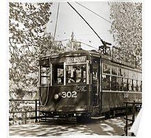 Bendigo Tram Poster