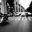 Bangkok Jam - Lomo by Yao Liang Chua