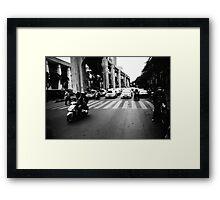 Bangkok Jam - Lomo Framed Print