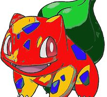 hybrid bulbasaur by Kaylin watchorn