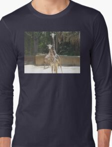Parent and Child Giraffe 3 Long Sleeve T-Shirt