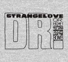 strangelove [dr]  black ink variation One Piece - Short Sleeve