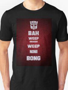 Bah Weep Granah Weep Nini Bong T-shirt T-Shirt