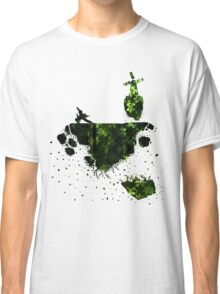 floating earth Classic T-Shirt