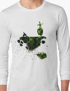 floating earth Long Sleeve T-Shirt