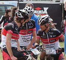 Trans Brdy CZ III. - mountain bike races / Finally in goal by Natas