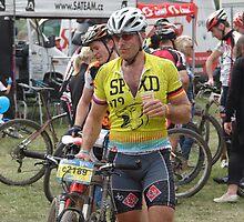 Trans Brdy CZ V. - mountain bike races / bee on a bike by Natas