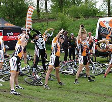 Mladá Boleslav TOUR CZ - racing mountain bikes II. / morning warm-up before the race by Natas