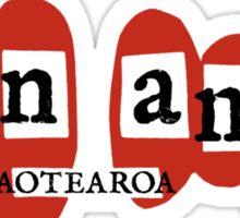 run amok - aotearoa Sticker