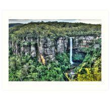 Belmore Falls, NSW, Australia Art Print