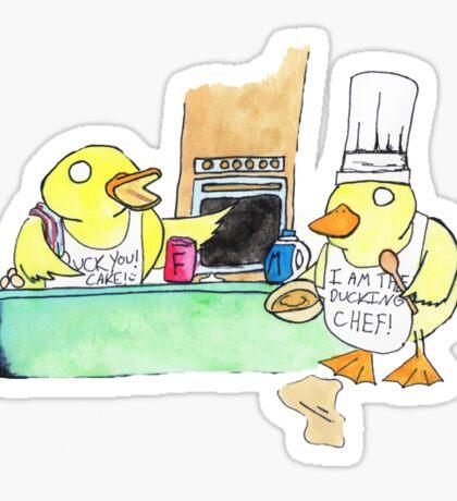Baking Sticker