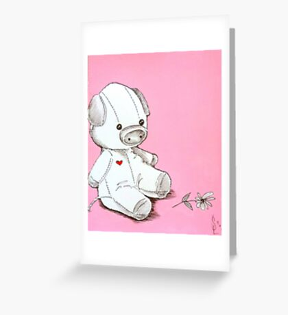 Little P Greeting Card