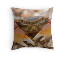Mr. Crab Throw Pillow
