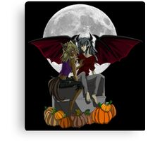 A Thiefshipping Halloween Canvas Print