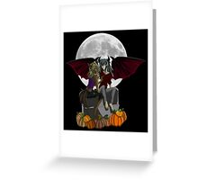 A Thiefshipping Halloween Greeting Card