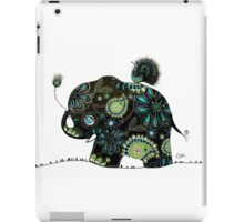 The Elephant and the Peacock iPad Case/Skin