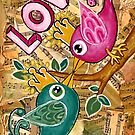 LOVE  by Lisa Frances Judd~QuirkyHappyArt