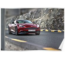 Aston Martin Vanquish UAE 2 Poster