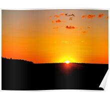 Sunset at the Grand Canyon, AZ Poster