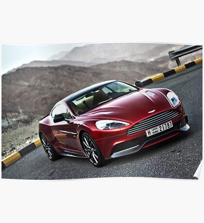 Aston Martin Vanquish UAE 3 Poster