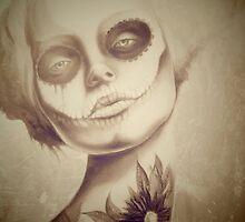 Tattooed Lady by OutsiderArtist