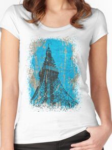 TOKYO TOWER. Women's Fitted Scoop T-Shirt