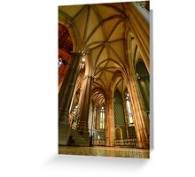 St. Patricks Cathedral, Melbourne Greeting Card