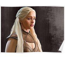 Emilia Clarke as Khaleesi Poster