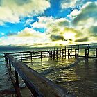 Old dock by collpics
