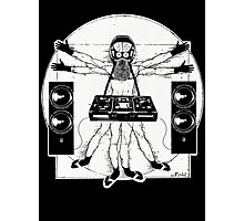 VITRUVIAN ALIEN DJ T-SHIRT Photographic Print